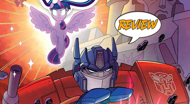 My Little Pony/Transformers: Friendship In Disguise #1 Review