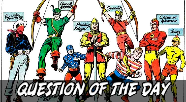 Seven Soldiers of Victory or Law's Legionnaires QOTD