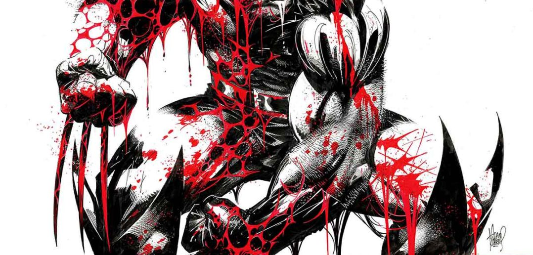Wolverine Black and White and Blood