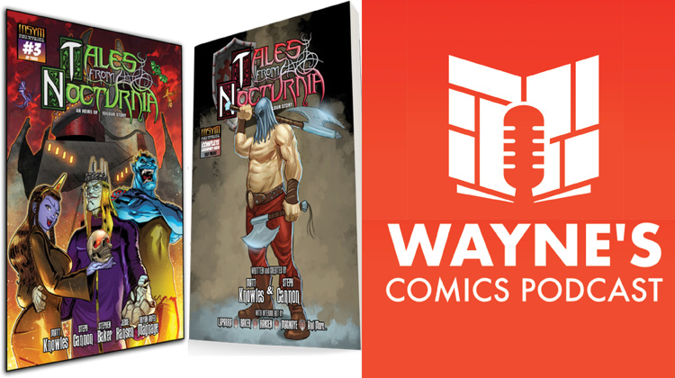 Wayne's Comics, Wayne Hall, Heirs of Isildur, Matt Knowles, Steph Cannon, metal, Professor Mykal Isildur, Father Time Emporeum, Shadow's Haven, Shiver, Murk, timekeeper, Tales from Nocturnia, steampunk, time travel, Nocturnia, Benonoch, executioner, Sinisterians