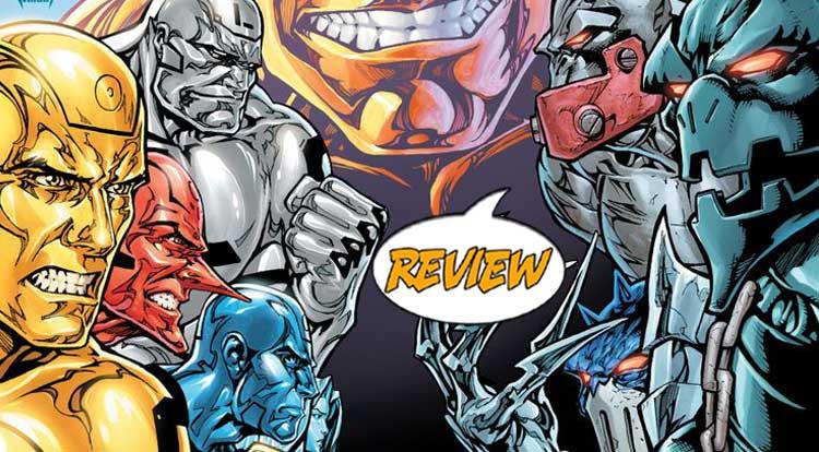 Metal Men #10 Review