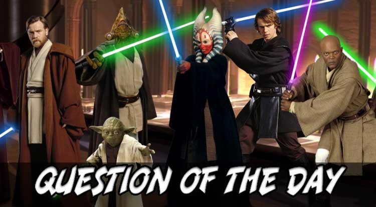 Top Jedi QOTD