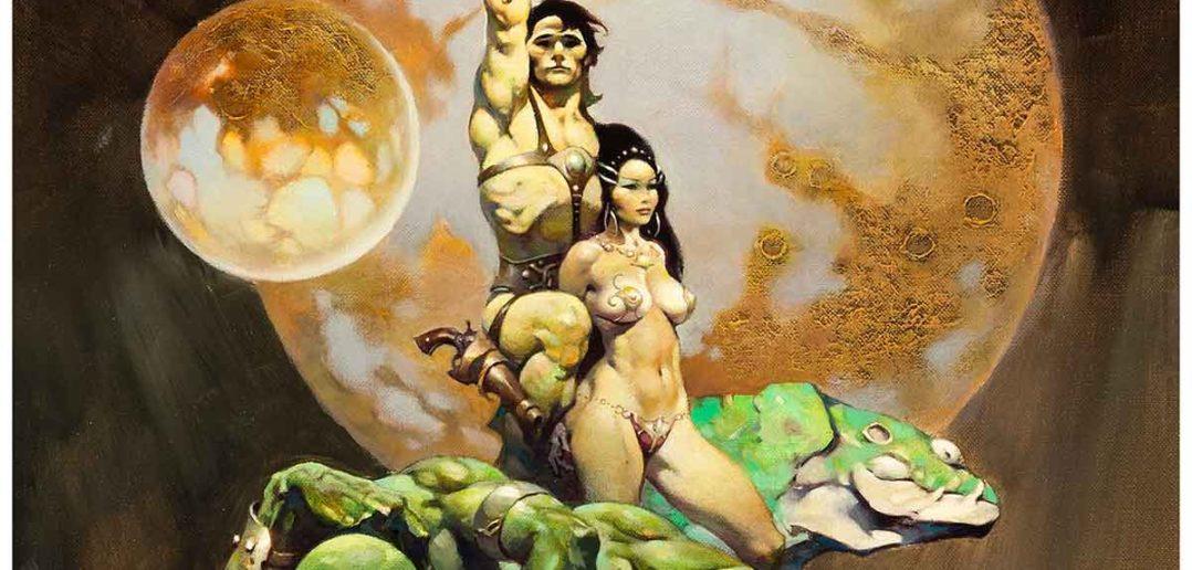 The Princess of Mars by Frank Frazetta