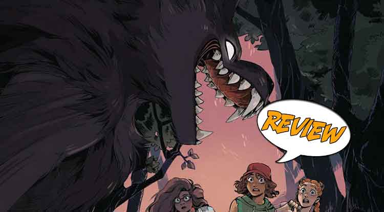 Goosebumps Secrets of the Swamp #1 Review