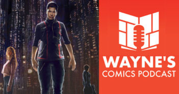 Wayne Hall, Wayne's Comics, A Titan's Rise, cyberpunk, Kickstarter, Shades of Vengeance, Ed Jowett, Violete, Lacuna, Blue Shift, ERA, Empowered, Shades of Vengeance, Consortium