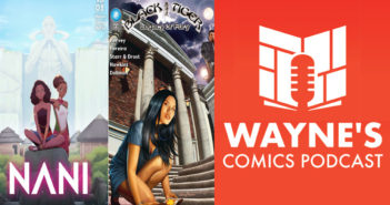 Wayne Hall, Wayne's Comics, Kugali Media, Black Tiger, Nani, Mina, Lamin, Laye, Kore, Samma, Nigeria, Ziki Nelson, Jasonas Lamy, John Hervey, Rod Luper, Indiegogo, Kickstarter, Los Santos, Jennifer Fong, Pacific Fong, Alina