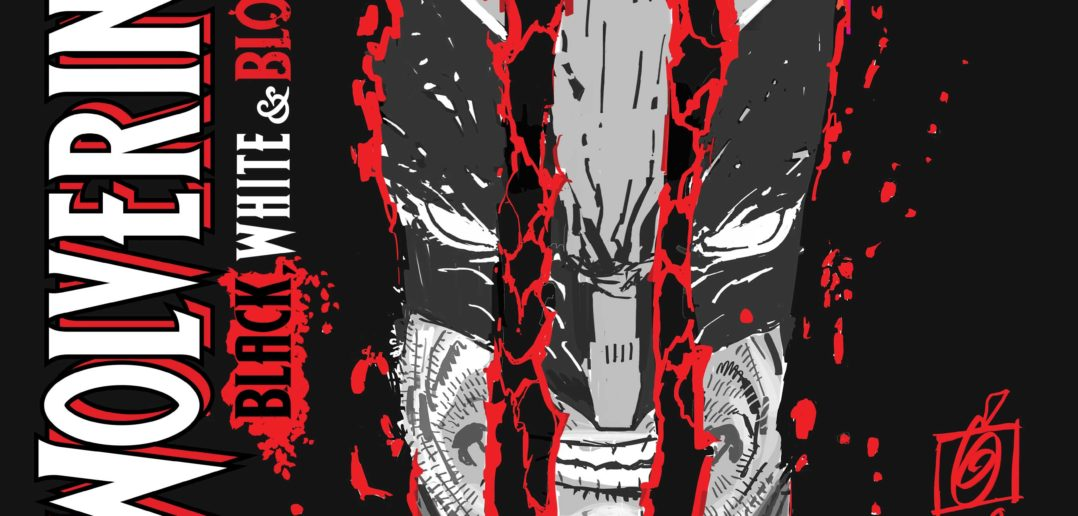 Wolverine Black white and blood