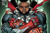 Spawn #311 Chadwick Boseman Variant Cover