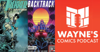 Wayne Hall, Wayne's Comics, Ron Randall, Mercy St. Clair, Trekker, Molly, Hunter's Moon, Kickstarter, Brian Joines, Backtrack, Oni Press, Alyson Levy, car race, Jackson, Jake Elphick, Krampus