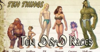 D&D Races Ten Things