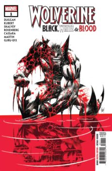 Wolverine Black White and Blood #1
