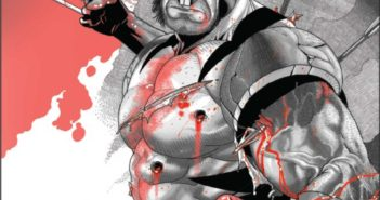 Wolverine Black White and Blood #2
