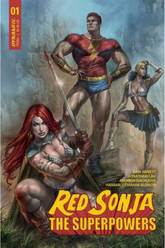 Red Sonja The Superpowers #1