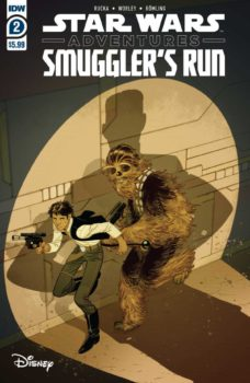 Star Wars Adventures Smuggler's Run #2