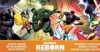 Heroes Reborn Covers