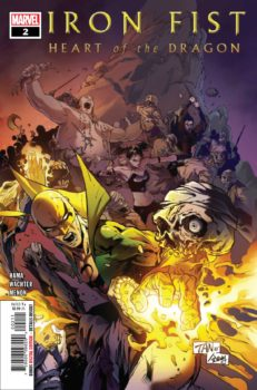 iron Fist Heart of the dragon #2