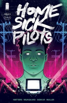 Home Sick Pilots #3 Review