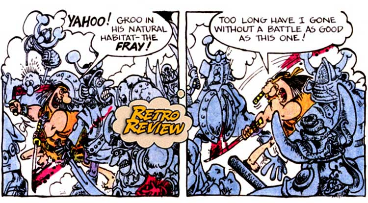 Groo The Wanderer #1 Retro Review