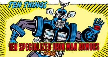 Ten Specialized Iron Man Armors Ten Things