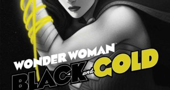 Wonder Woman Black and Gold