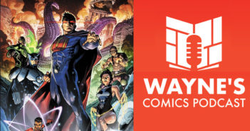 Wayne Hall, Wayne's Comics, Jay Magnum, Andy Schmidt, Ultraman, Owlman, Superwoman, Lois Lane, Diana Prince, Bryan Hitch, Kieran McKeown, Johnny Quick, Atomika, Emerald Warrior, Earth-3, Crime Syndicate, Star Trek, multiverse, DC, Comics Experience, Source Point Press