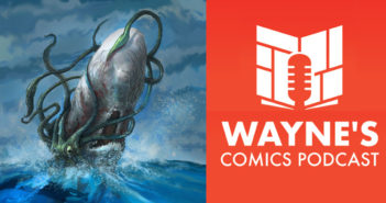 Wayne Hall, Wayne's Comics, Moby Dick, Matt Schorr, Jonathan Thompson, Back from the Deep, undead, zombie, Captain Ahab