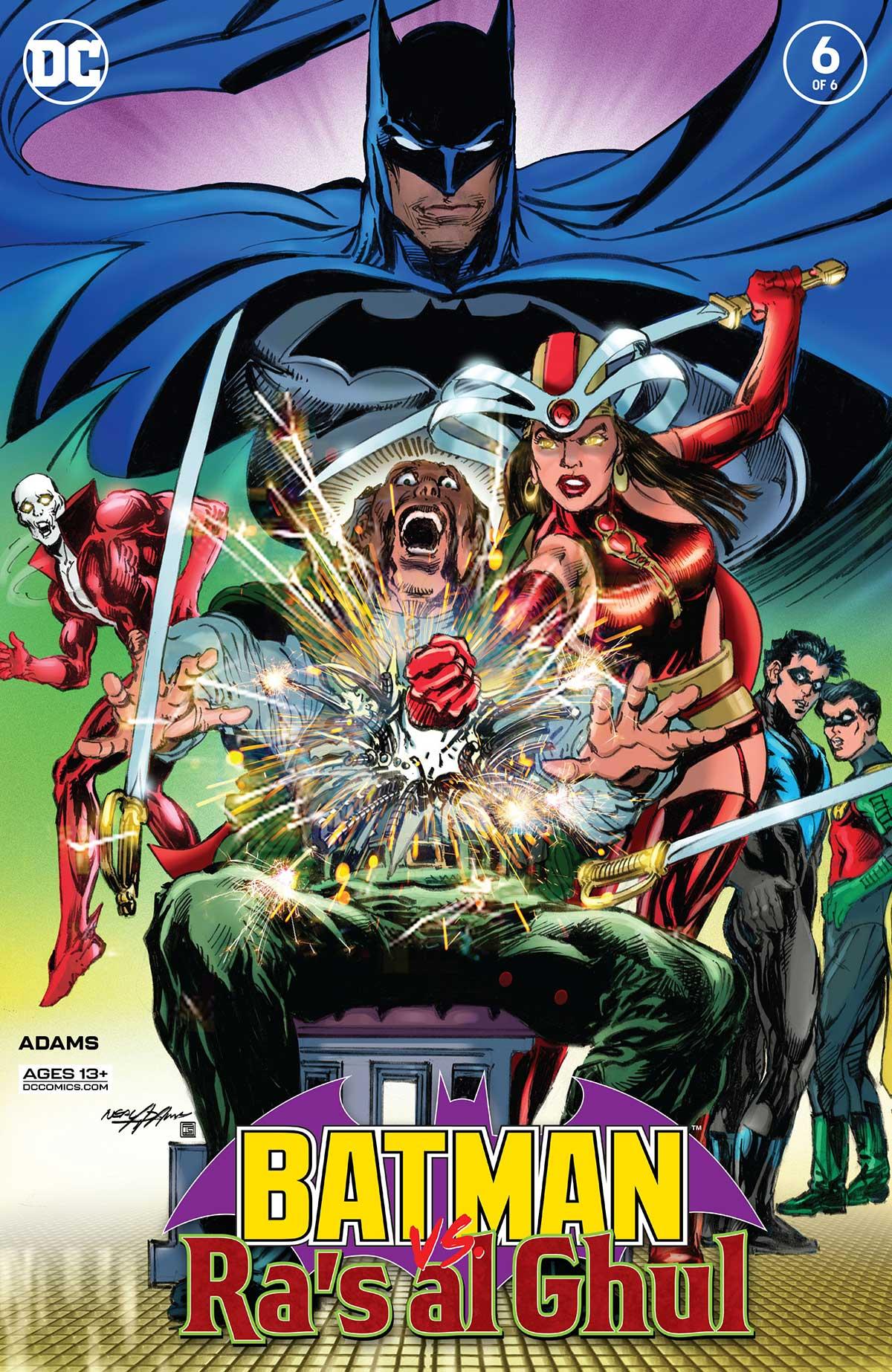 Batman vs. Ra's al Ghul #6