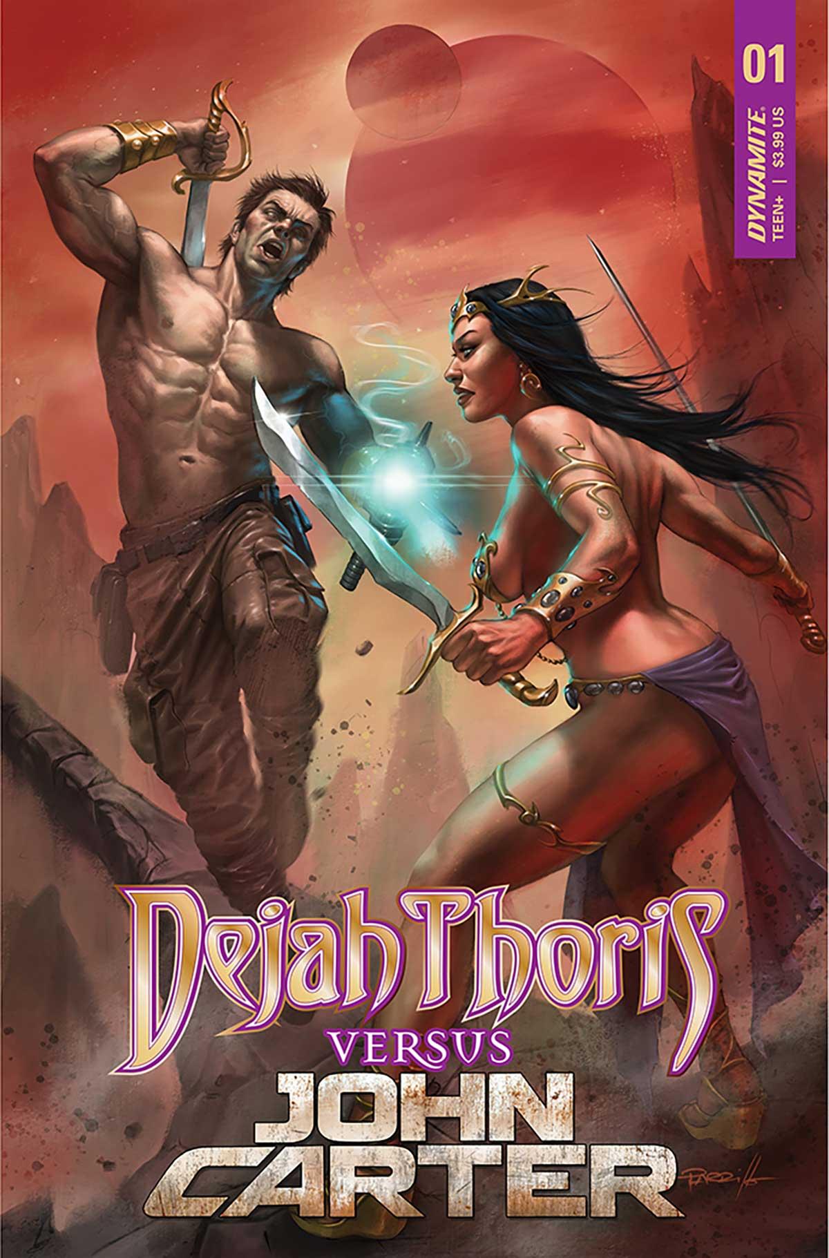 Dejah Thoris versus John Carter