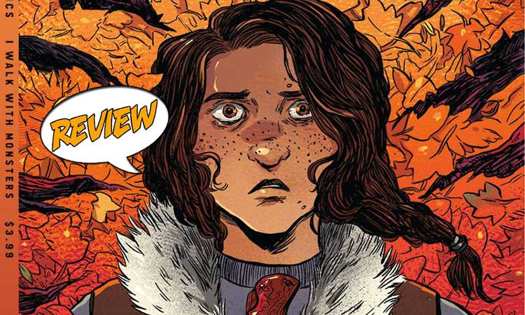 I Walk with monsters #5 Review
