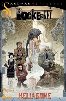 Locke and Key Sandman Hell and Gone #1