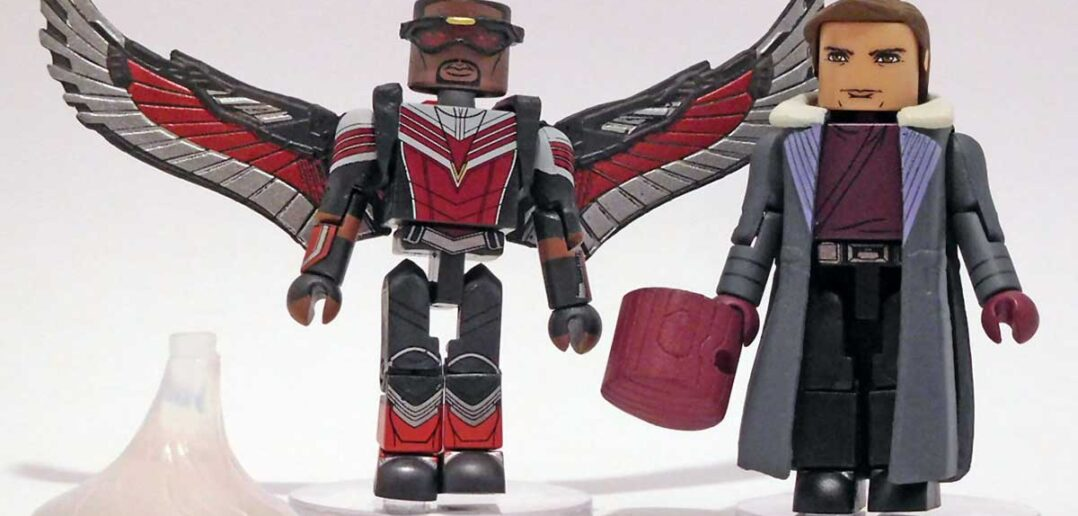 The Falcon and the Winter Soldier Minimates