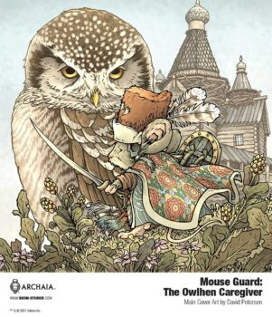 Mouse Guard: The Owhlen Caregiver