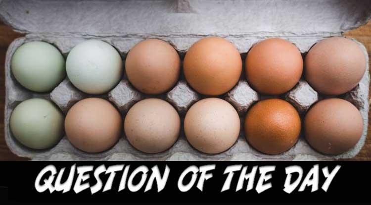 How do you take YOUR eggs QOTD