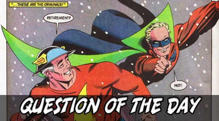 A Flash or a Green Lantern QOTD