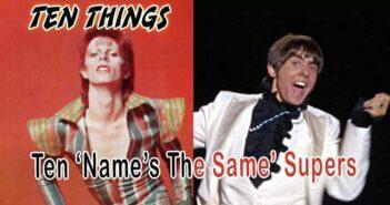 Name's The Same Ten Things