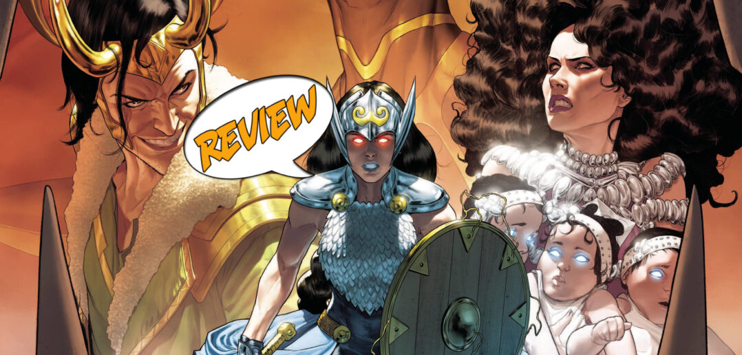 The Mighty Valkyries #1 Review