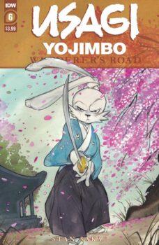 Usagi Yojimbo Wanderer's Road #6