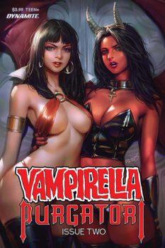 vampirella vs purgatori #2