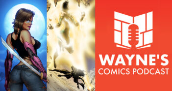 Wayne Hall, Wayne's Comics, Resilient, Colm, George Michail, Ed Jowett, Penumbra, Tide, Shades of Vengeance, Absolute Comics, Empowered, Blue Shift, United, shadows, badass, robot arms, judo teacher, Jolanda, adversity,