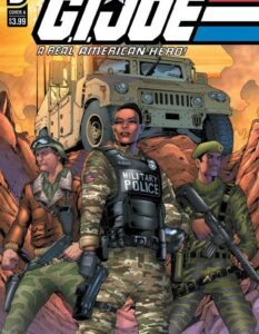 GI JOE A Real American Hero #281