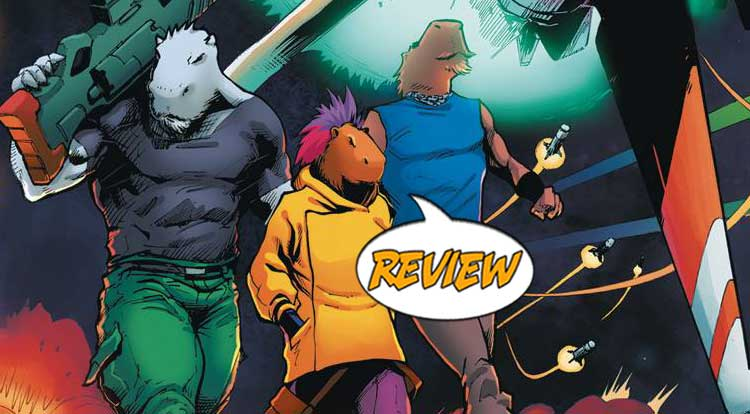 Galactic Rodents of Mayhem #1 Review