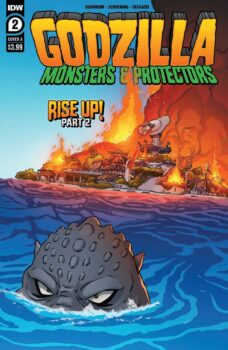 Godzilla Monsters and Protectors #2