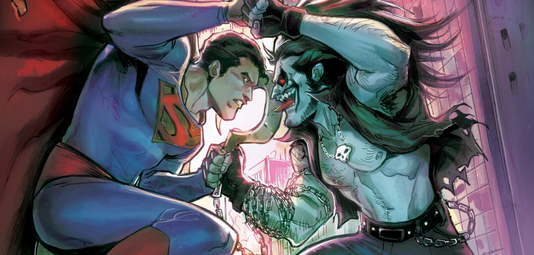 Superman vs. Logo