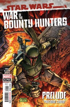 Star Wars War of the Bounty Hunters Alpha #1