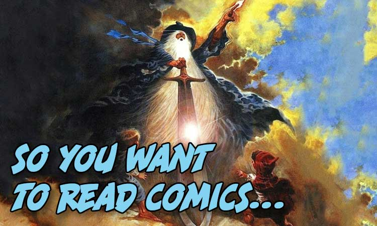 So You want to read comics lord of the rings