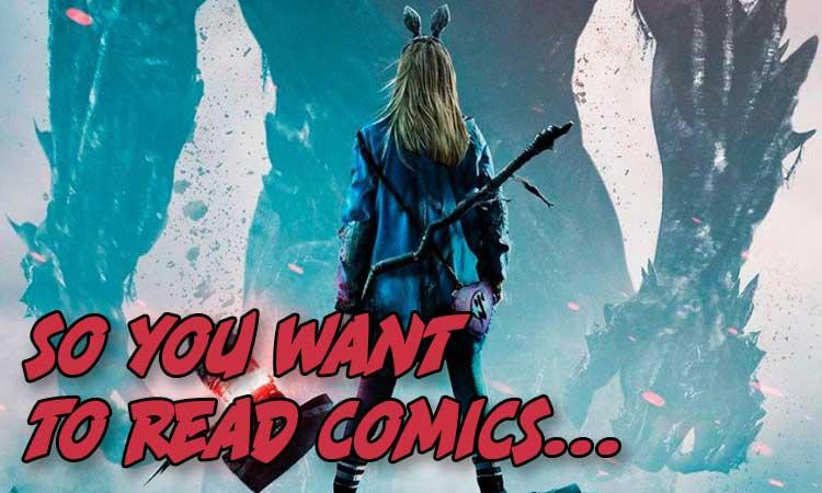 So You Want to read comics wandavision edition