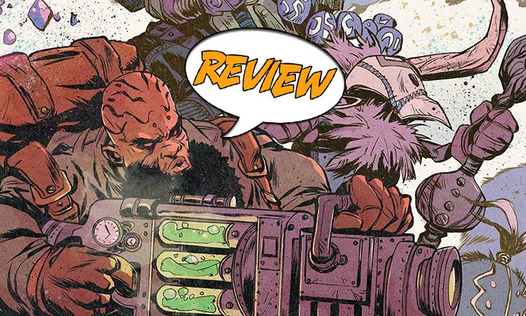 Bitter Root #12 Review