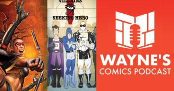 Wayne Hall, Wayne's Comics, Black Tiger, Hidden Dragon, Tigress, Spirit King, Nite-Man, Master Molecule, Villains Seeking Hero, Indiegogo, Louis Southard, John Hervey, Beyond Time Comics