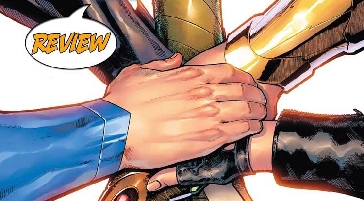 Justice League #62 Review