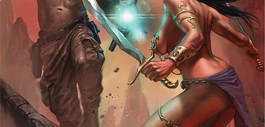 Dejah Thoris VS John carter of Mars #1